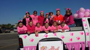 Congratulations to the Pink Panthers for winning Best Float at the 2014 SDM Softball Parade!!